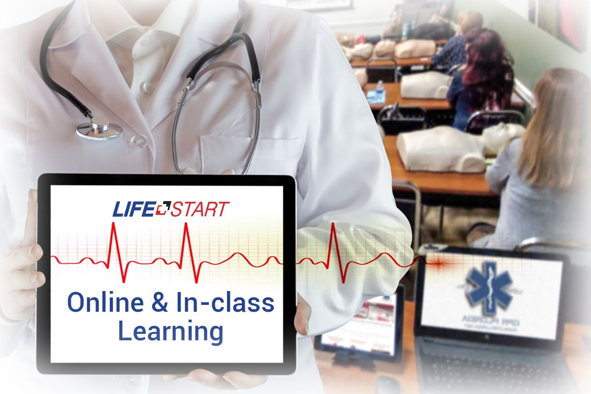 Blended Emergency First Aid CPR/AED Level C
