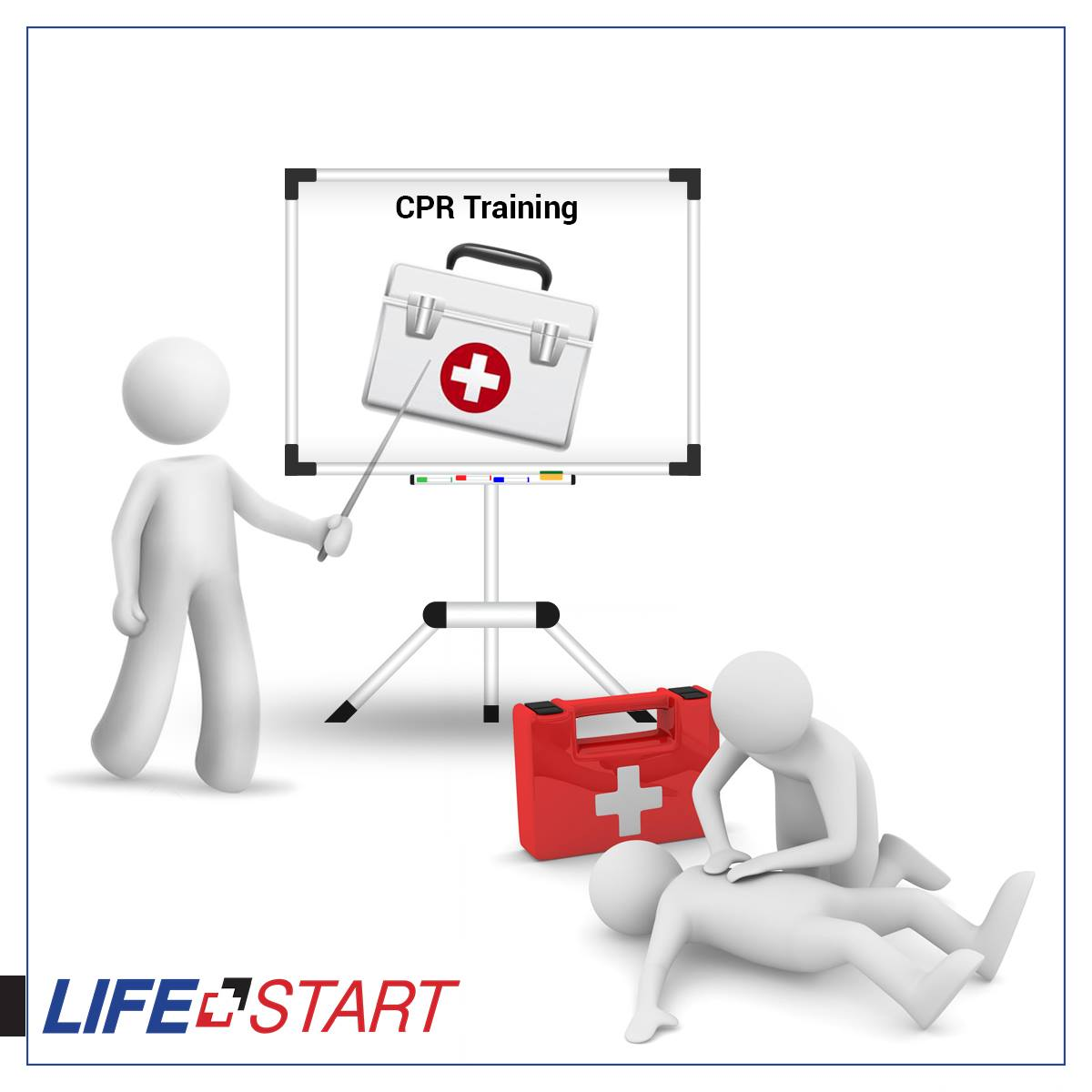 In-person CPR/AED Level C