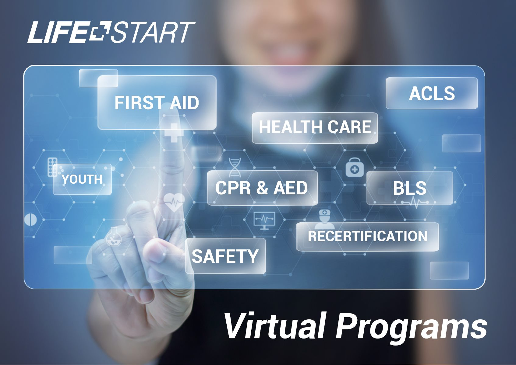 Virtual Recertification Emergency First Aid CPR/AED Level C